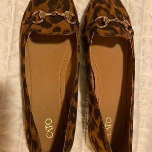 Cato Leopard Print Flats